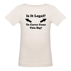 Is It Legal? Infant Creeper Organic Baby T-Shirt