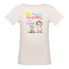 Nurse Mommy! Organic Baby T-Shirt