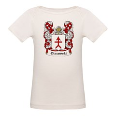 Olszewski Coat of Arms Infant Creeper Organic Baby T-Shirt