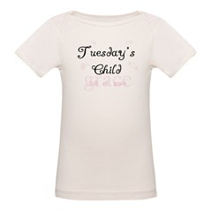 Tuesday's Child Kids Organic Baby T-Shirt