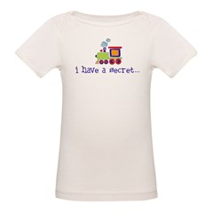 big brother secret train front/back Kids Organic Baby T-Shirt