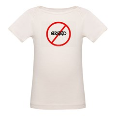 NO GREED Organic Baby T-Shirt