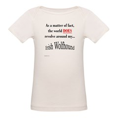 Wolfhound World Organic Baby T-Shirt