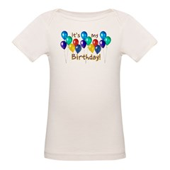 It's My Birthday Organic Baby T-Shirt