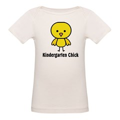 Kindergarten Chick Organic Baby T-Shirt