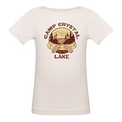 Camp Crystal Lake Organic Baby T-Shirt