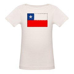 Chilean Flag Organic Baby T-Shirt