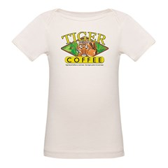 Tiger Brand Coffee Organic Baby T-Shirt