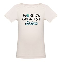 World's Greatest Godson Organic Baby T-Shirt
