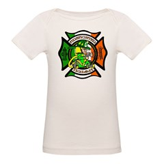 Firefighter-Irish Organic Baby T-Shirt