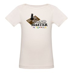 Grand Master in Training Organic Baby T-Shirt