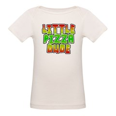 Little Pizza Dude Organic Baby T-Shirt