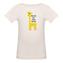 Cute Christian Organic Baby T-Shirt
