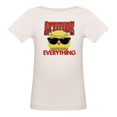 Attitude is Everything Organic Baby T-Shirt