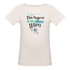 I am . . . The Bearer of The Bling Organic Baby T-Shirt