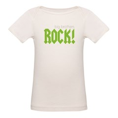 Big Brothers Rock Organic Baby T-Shirt