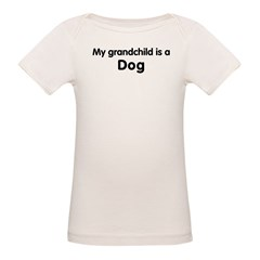Dog grandchild Organic Baby T-Shirt
