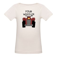Four Wheeler Organic Baby T-Shirt