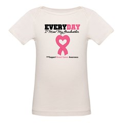 BreastCancerMissGrandmother Organic Baby T-Shirt