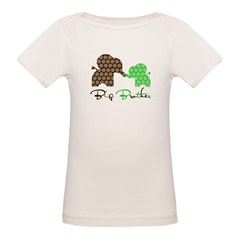 Big Brother Elephan Organic Baby T-Shirt
