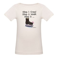 3 Steps Kids Organic Baby T-Shirt