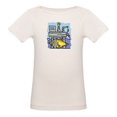Off Shore Oil Rig Organic Baby T-Shirt