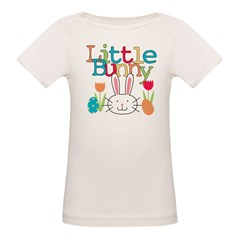 Boy Little Bunny Organic Baby T-Shirt