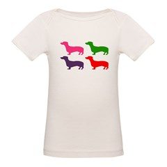 Pop Doxie II Organic Baby T-Shirt
