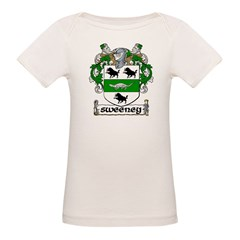 Sweeney Coat of Arms Infant Creeper Organic Baby T-Shirt