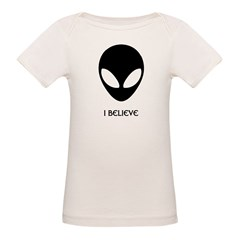 I Believe Infant Creeper Organic Baby T-Shirt