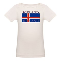 Iceland Infant Creeper Organic Baby T-Shirt
