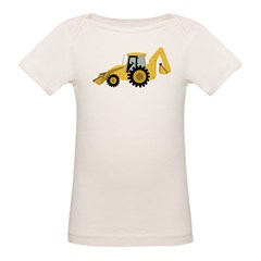 Backhoe Organic Baby T-Shirt