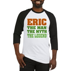 Eric The Legend Baseball Jersey