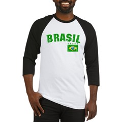 BRAZIL-BLACK-worn Baseball Jersey