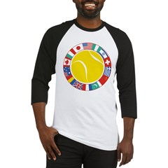 Tennis World Baseball Jersey