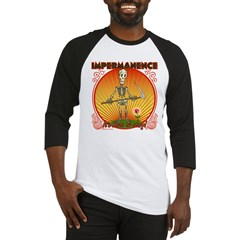 Impermanence4black Baseball Jersey