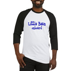 Little bean onboard blue Baseball Jersey