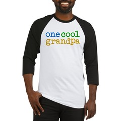 one cool grandpa Baseball Jersey