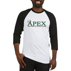 Apex North Carolina Peak of Good Living Baseball Jersey