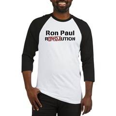 Ron Paul 2012 Baseball Jersey