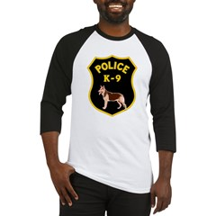 K9 Police Officers Baseball Jersey