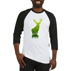 DEER STAG GRAPHIC Baseball Jersey
