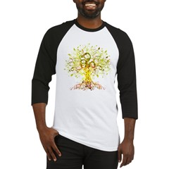abstract tree Baseball Jersey