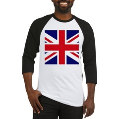British Flag Union Jack Baseball Jersey