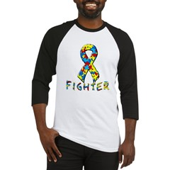 Autism fighter Baseball Jersey