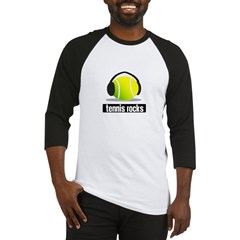 TENNIS ROCKS Baseball Jersey