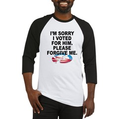 Sorry_I_Voted_for_O Baseball Jersey