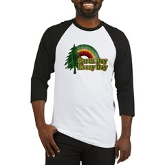 Earth Day Every Day Retro Baseball Jersey