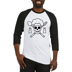 chef-pirate-T Baseball Jersey