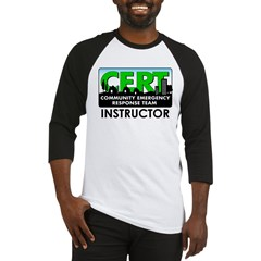 CERT Instructor Baseball Jersey
